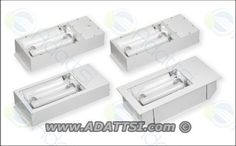 Indus Ip54 Low Bay Induction Lighting Fixture. High quality energy saving commercial lighting fixture.