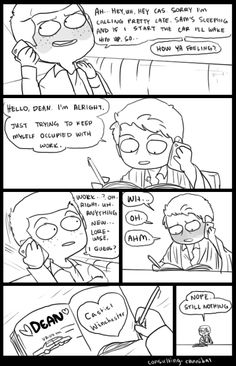 Destiel Fanart SPN E 11x04 by  http://consulting-cannibal.tumblr.com/
