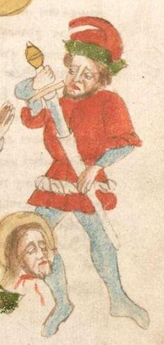 Weltchronik. Sibyllenweissagung. Antichrist BSB Cgm 426, Bayern, 3. Viertel 15. Jh  Folio 47