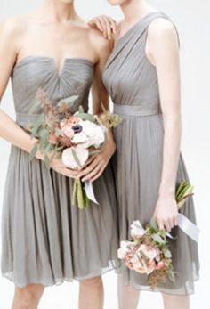 lovely bridesmaid dresses from JCrew Beautiful Bridesmaid Dresses, Wedding Dresses, Fashion, Bridesmaids, Vestidos, Daughters, Bride Dresses, Moda, Bridal Gowns
