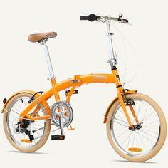 """MIAMI Citizen Bike 20"""" 6-speed Folding Bike with Steel Frame"""