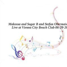 Makossa and Sugar B and Stefan Obermaier-Live at Vienna City Beach Club-SAT-06-29-2016-PTC