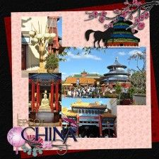 Epcot China - MouseScrappers - Disney Scrapbooking Gallery