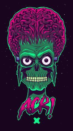 Scary Art, Spooky Scary, Rugrats, Cute Wallpapers, Wallpaper Backgrounds, Penguin Cartoon, Batman Cartoon, Frankenstein Art, Horror Movie Characters