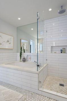 Beautiful subway tile bathroom remodel and renovation (25)
