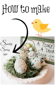 How to make sparkly