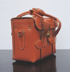 Cheney Leather Camera Bag