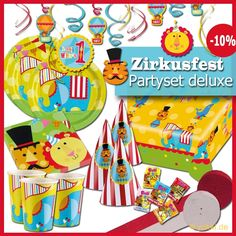 Perfect Zirkus Party Party Paket deluxe