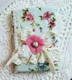 Check out this item in my Etsy shop https://www.etsy.com/listing/287321411/vintage-fabric-journal-shabby-chic