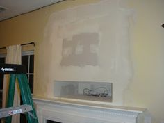 Filling a Hole - Niche for components under the wall-mounted tv