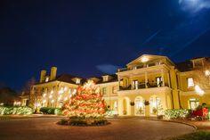 Keswick Hall at Christmas | Ashley & Bob's Keswick Hall Wedding