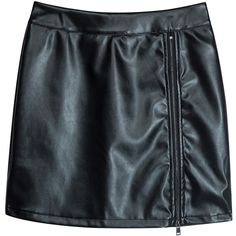 Black High Waist Zip Front Split Detail Lace Panel Skirt ($20) ❤ liked on Polyvore featuring skirts, zip front skirt, high waisted knee length skirt, high-waisted skirt, high waisted skirts and high rise skirts