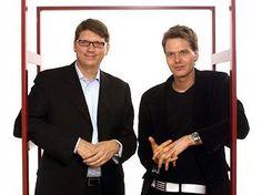 Niklas Zennstrom & Janus Friis, co-founders Skype
