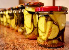 Cukinia marynowana w zalewie curry Tortellini, Pickles, Cucumber, Salads, Curry, Food And Drink, Banana, Canning, Dinner
