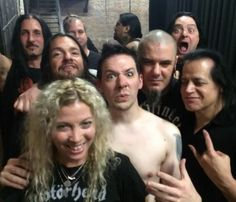 Members of Type O Negative, Pantera, White Zombie and Danzig hanging out backstage with an unmasked Papa Emeritus of Ghost Ghost Papa, Ghost Bc, Heavy Metal Music, Heavy Metal Bands, Music Rock, Danzig Misfits, Glenn Danzig, Band Ghost, White Zombie