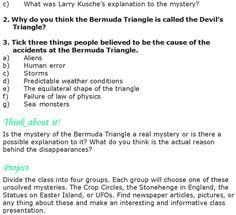 Bermuda triangle persuasive essay
