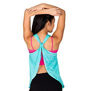 Relaxed Fit Open Back Tank Top