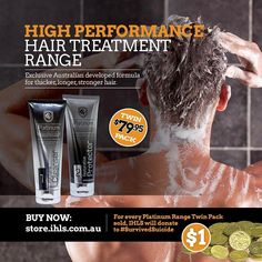 #thickerlongerstrongerhair #givesback @platinum_hair_products @zuck @tonyrobbins