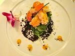 Lobster Salad with Mustard Leaves and Ouzo Jelly
