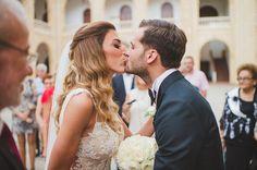 Wedding Moments, Elegant Wedding, Most Beautiful, Kiss, Bride, Wedding Dresses, Fashion, Wedding Bride, Bride Dresses