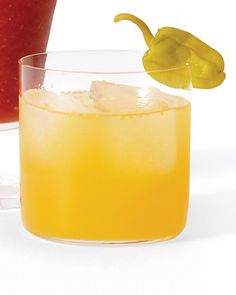 Sunny Mary made with fresh yellow tomatoes - from Martha Stewart