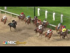 Morning line favorite Secretariat wins the Triple Crown Showdown, a virtual race with all 13 Triple Crown winners, in a close finish with Citat Yorkie Poo Full Grown, Kentucky Derby Race, Bob Baffert, Nfl Sunday, Derby Horse, Preakness Stakes, Horse Exercises, Triple Crown Winners, American Pharoah