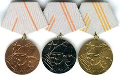 GDR Brotherhood in Arms Medal - Orders, decorations, and medals of East Germany - Wikipedia