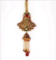 Indian bollywood challa Saree Belt jumer Sari chaavi ka Jooda Juda Key Chain  #VGjewel