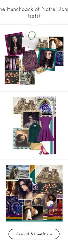 """""""The Hunchback of Notre Dame (sets)"""" by srta-sr ❤ liked on Polyvore featuring smrnotredame, art, Just Cavalli, Monsoon, Zuhair Murad, Stuart Weitzman, Armenta, Matthew Williamson, People Tree and Steve Madden"""
