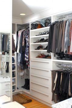closet organization, note the corners Closet Redo, Closet Remodel, Build A Closet, Laundry Closet, Master Closet, Closet Space, Walk In Closet, Closet Ideas, Master Bedroom