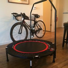 This is too much fun #jump #ultimatecrosstraining #urbanrebounder #wilsoncoaching #fitnesstoys