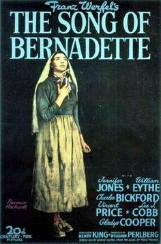 Affiche du film Le chant de bernadette