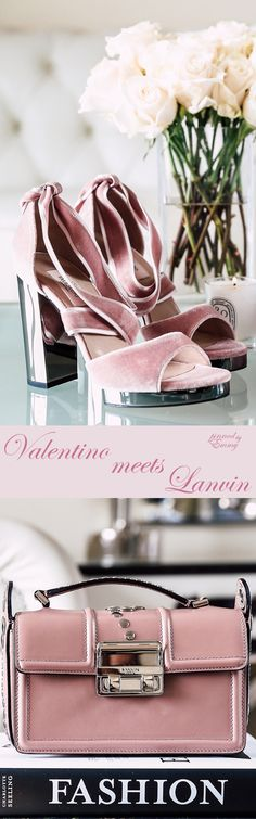 Valentino meets Lavin #pink #bags #shoes