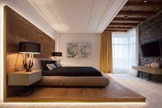 Медный дом: шале в современном стиле