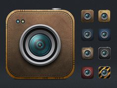 Camera iOS Variation Icons