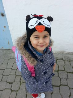 Check out this item in my Etsy shop https://www.etsy.com/listing/261612588/headband-with-penguin