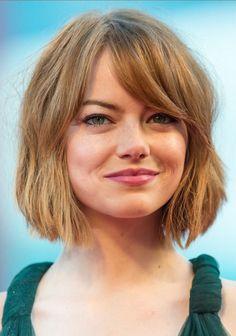 20 increíbles cortes de pelo corto con flequillo
