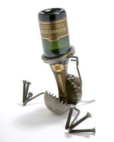 Recycled Metal - Wine Be Gone Salvaged :: Reclaimed :: Recycled