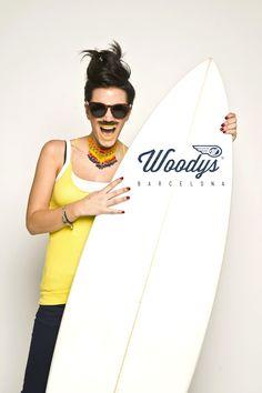 Surfboard Barcelona - Woodys