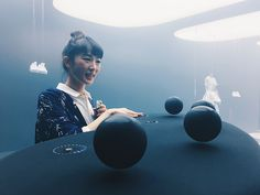 NikeLab's Vaporscape  The body becomes an orchestra with NikeLab's Vaporscape.  The installation detects the humidity of the room and the body temperature of audience members which then translates the vaporization rate into sound modulation.
