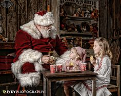 Immortalize their belief with a large portrait in your home.  Fine Art Santa Portraits near Dallas Fort Worth Texas by Ivey Photography.  We have THE BEST Santa!