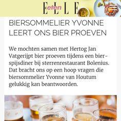 BIER PROEVEN hoe dan?#bierproeven #biersommelier #elleeten #bier #beer #eten #food Lees het hier:  http://www.elleeten.nl/Drinks/bier-proeven-biersommelier-tips