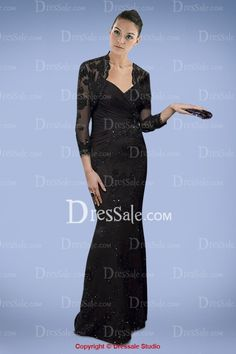 Luxurious Sheath Floor-length Gown for Mothers with Delicate Bolero, Quality Unique Mother of the Bride Dresses Bridesmaid Dresses, Bride Dresses, Formal Dresses, Bridesmaids, Floor Length Gown, Mothers Dresses, Fitted Bodice, Mother Of The Bride, Dresses Online
