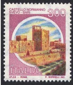 Sello: Castle Bari (Italia) (Castles) Mi:IT 1715I,Yt:IT 1447a,Sas:IT 1518/II,Un:IT 2122