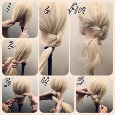 A style of women that can be made ♡ Easy morning! Short hair arrangement for OL Dinner Hairstyles, Work Hairstyles, Creative Hairstyles, Pretty Hairstyles, V Hair, Hair Art, Strait Hair, Medium Hair Styles, Curly Hair Styles
