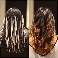 Hairstyle Trends 2015, 2016, 2017: Before/After Photos: Balayage, Sombre, Soft Ombre Hair Color