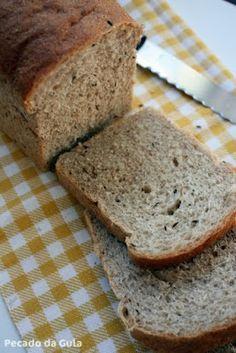 PECADO DA GULA: Pão de centeio com kümmel