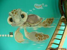 Turtle Bedroom Accessories Wall Decor Ideas