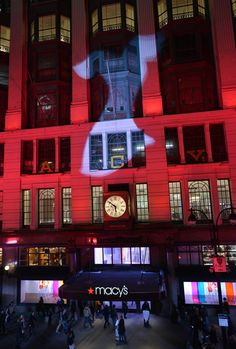 Macy's Herald Square Goes Red to Kick Off the National Wear Red Day! Macy's Herald Square, Women In America, Red Day, American Heart Association, Go Red, Mountain States, Wear Red, Around The Worlds, Heart Health