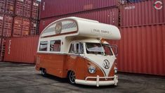 Build Volkswagen VW T2 Split Window Snail Camper Bus Bulli - Overhaulin ... Vw Busse, T2 Bus, Transporter, Vw Camper, Barn Finds, Campervan, Snail, Recreational Vehicles, Volkswagen